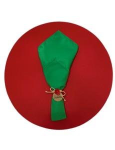 Kit Mesa Posta 3 peças Natal Verde e Vermelho