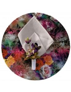 Kit Mesa Posta 3 peças Uva Floral