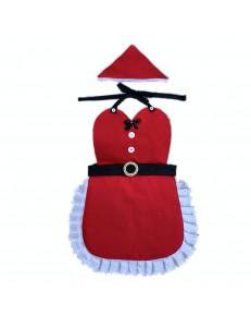 Avental de Natal Infantil com Lencinho