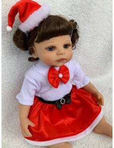 Kit Saia /Laço /Faixa de Touquinha Natal Bebê