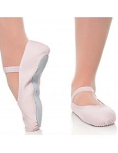 Sapatilha Infantil Meia Ponta Sola Inteira Canvas Shoes Estudante Capezio 14